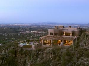 Panoramic views of the Tucson Valley and mountain ranges