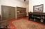 Located off the kitchen this room could has endless possibilities. A perfect play room, crafts, home office or additional space for preparing foods with cabinet and counter space? The choice is yours to make.
