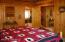 Master bedroom, on main floor.