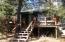 Front trex deck