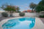 Picture-perfect views of Pusch Ridge from the back patio and pool.