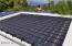 Pool solar array