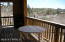 Covered outside deck