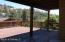 Large back deck.