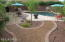 Professionally designed yard with paver patio, DG path, timed lighting and irrigation system, Pebble Tec pool