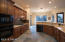 """42"""" cabinets with soft-close doors and slide-outs."""
