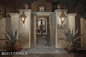 Courtyard Entry Gate