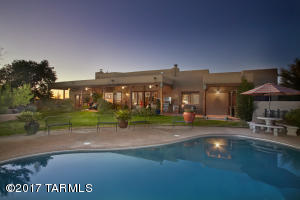 Stunning Southwest style home in La Cebadilla Estates.