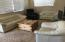 Current Furniture arrangement Master BR being set up w king Bed