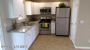 Remodeled kitchen with new cabinets and Granite countertops . Stainless Steel Appliances