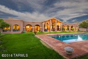 La Cholla Air Park Custom Equestrian & Personal Fly-in Estate on 7+acres w/ unobstructed Catalina Mountain views.