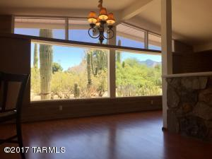 DESERT & MTN VIEW FROM DINING & LIVING ROOMS