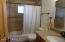 Full bath on main floor.