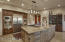 Fabulous Dacor refrigerator...Truly a special kitchen!