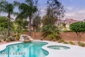Enjoy the views of the Catalina Mountains as you relax in your private oasis.