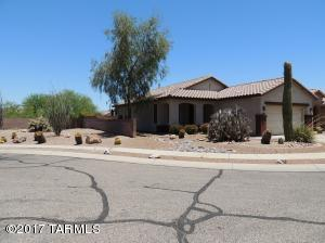 This home is located at the end of a cul-de-sac with amazing views of the saguaro-studded mountains!
