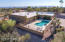 Plenty of privacy on this lot with natural desert landscape.