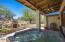 JACUZZI AND FIREPLACE ON MASTER PATIO