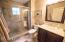 Guest bath view