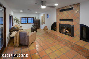 Wells Fireplace with raised hearth-Energy Efficient Windows!