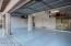 Floor recently finished with epoxy coating.