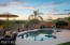 Pebble Tec pool and spa with self-cleaning system