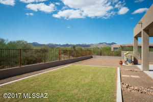 Large Backyard with View Fencing to Enjoy the Spectacular Sunset