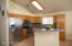 Kitchen with Ample Cabinet Space & Island