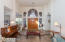 CAPTIVATING FOYER W/DOUBLE DOORS TO LIVING ROOM