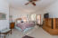HUGE MASTER BEDROOM W/DOOR TO PATIO