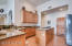 Tons of cabinetry, granite counters, stainless appliances