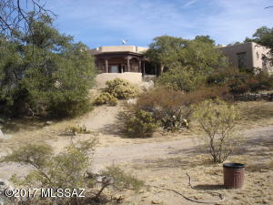Home sits above property with awesome views on 4.0 acres