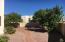 East yard with citrus trees (lemon, grapefruit and orange)