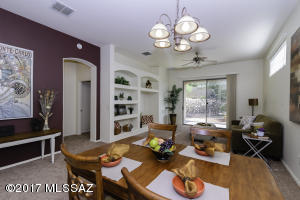 Living and Dining areas open to one another