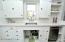 Original restored cabinetry.
