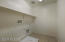 Huge Laundry room centrally located upstairs for easy access to all rooms
