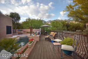 Wrap around deck to enjoy Tucson living at its best