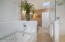 Spa Bath with soaking Tub & walk- in giant shower