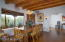 Entrance foyer, dining area & views