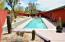 Auto covered, heated Lap Pool