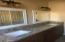 Dual vanity top in hall bath with ample storage space below