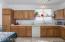 Kitchen cabinets.