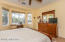 Master suite with bay window.