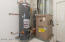 Water heater and furnace.