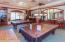 Community billiard room