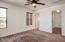 Spacious master bedroom with large walk in closet and en suite bathroom