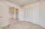 4th bedroom/den double doors for convenient office space