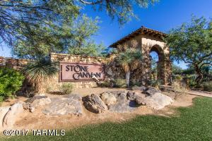 Stone Canyon Main Entrance Marquee.