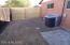 Secure side yard area