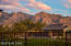 Catalina Mountain view. Homesite is adjacent to beautifully manicured park.